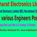 Bharat Electronics Limited Recruitment Notification 2014