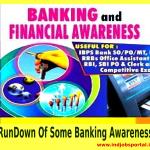 Rundown of Some Banking Awareness Material for IBPS Po & Clerks