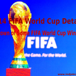 Rundown of Some FIFA World Cup Winners, 2014 FIFA World Cup Details