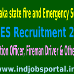 KSFES Recruitment 2015 Online Application For 1859 Fire Station Officer, Fireman Driver & Other Posts