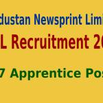 HNL Recruitment 2015 Apply Online For 107 Apprentice Posts
