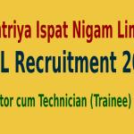 RINL Recruitment 2015 For 350 Operator cum Technician (Trainee) Posts
