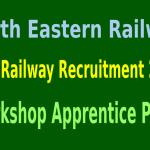 NER Railway Recruitment 2015 For 193 Workshop Apprentice Posts