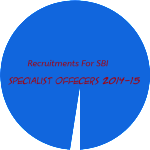 Recruitments For SBI Specialist Offecers 2014-15
