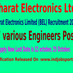 Bharat Electronics Limited Recruitment Notification 2014