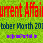 Rundown Of Some Current Affairs Questions, October Month 2014