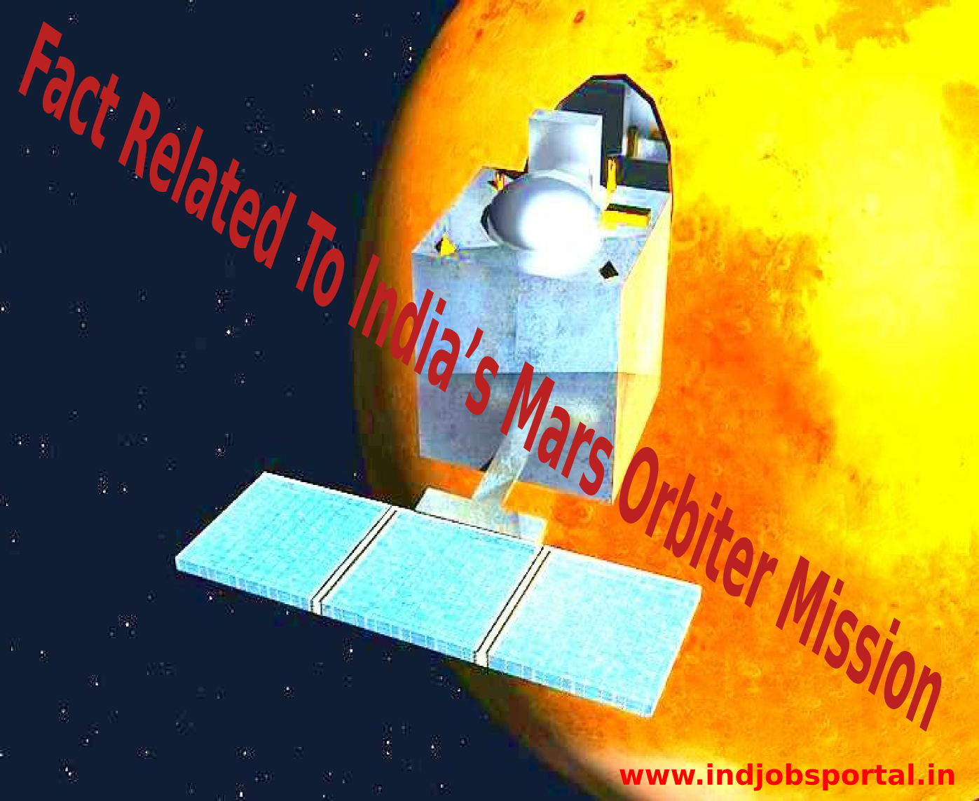 Rundown Of Some Fact Related To India's Mars Orbiter Mission Or Mangalyaan