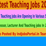 4000 Teaching Jobs Are Opening In Various State.