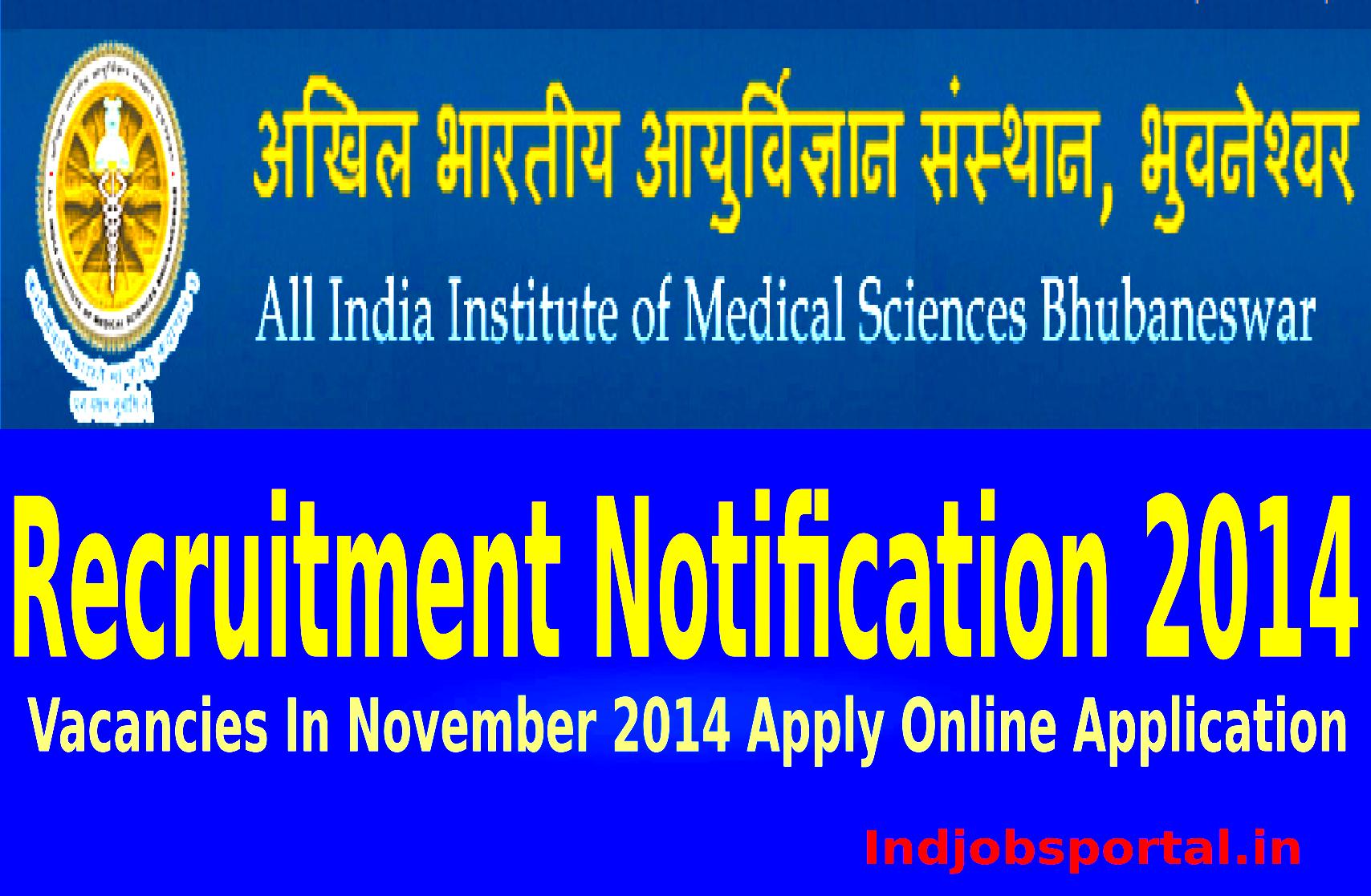 AIIMS Recruitments 201
