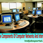 Computer Knowledge: Some Components Of Computer Networks And Internet.