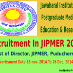 Jawaharal institute of postgraduate medical education and research