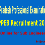 MPPEB Recruitment 2014 – Apply Online for Sub Engineer Posts