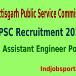 CGPSC Recruitment 2015 For 117 Assistant Engineer Posts