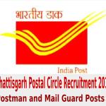 Chhattisgarh Postal Circle Recruitment 2014 for Postman and Mail Guard Posts