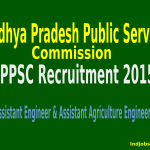 MPPSC Recruitment 2015 For 1453 Assistant Engineer & Assistant Agriculture Engineer Posts