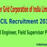 PGCIL Recruitment 2014 For 289 Field Engineer, Field Supervisor Posts
