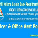 Pragathi Krishna Gramin Bank Recruitment 2014 For Officer & Office Asst Posts