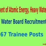Heavy Water Board Recruitment 2015 Apply Online For 167 Trainee Posts