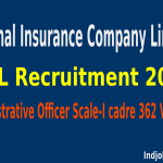 NICL Recruitment 2015 Apply Online For 362 Administrative Officer Posts