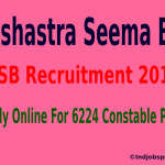 Sashastra Seema Bal (SSB) Recruitment 2015 Apply Online For 6224 Constable Posts