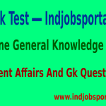 Mock Test Online General Knowledge Test Current Affairs And Gk Questions