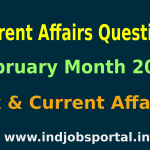 Rundown Of Some Current Affairs Questions, February Month 2015