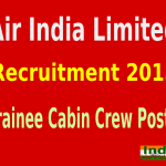 Air India Limited Recruitment 2015 Online Application For 435 Trainee Cabin Crew Post