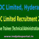 NMDC Limited Recruitment 2015 For 250 Executive Trainee (Technical/Administration) Posts