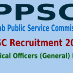 PPSC Recruitment 2015 For 404 Medical Officers (General) Post