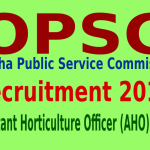 OPSC Recruitment 2015 For 123 Assistant Horticulture Officer (AHO) Posts