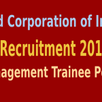 FCI Recruitment 2015 For 349 Management Trainee Posts