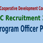 NCDC Recruitment 2015 For 71 JA Program Officer Posts