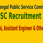 WBPSC Recruitment 2015 For 72 Principal, Assistant Engineer & Other Posts
