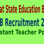 GSEB Recruitment 2015 For 688 Assistant Teacher Posts