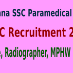 HSSC Recruitment 2015 For 2881 Nurse, Radiographer, MPHW Posts