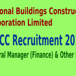 NBCC Recruitment 2015 For 109 General Manager (Finance) & Other Posts