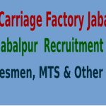 GCF Jabalpur Recruitment 2015 For 437 Tradesmen, MTS & Other Posts
