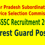 UPSSSC Recruitment 2015 For 563 Forest Guard Posts