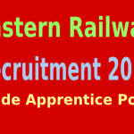 Eastern Railway Recruitment 2015 For 750 Trade Apprentice Posts er.indianrailways.gov.in