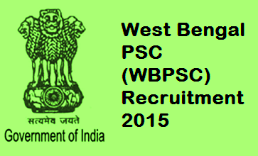WBPSC Recruitment 2015 www.pscwb.org.in For 165 Audit Accounts services Posts