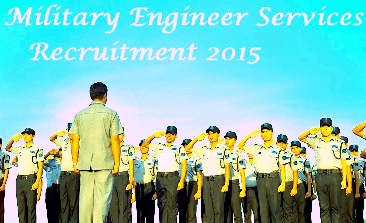 Military Engineer Services Recruitment 2015 For 762 Mate (Tradesman) Posts
