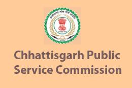 Chhattisgarh PSC Recruitment 2015 Apply Online for State Service Exam 2015