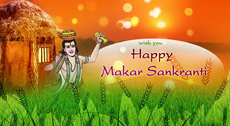Happy Makar Sankrani 2018 Images Wallpapers Greetings Cards