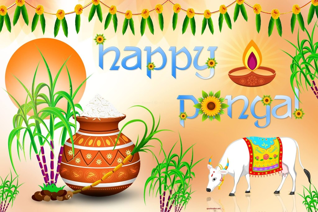 Happy Pongal 2018 Images Pictues Wallpapers
