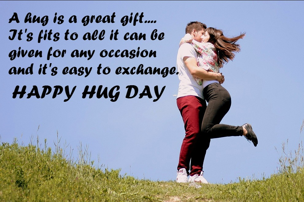 हिन्दी Hug Day 2018 Hindi Shayari SMS Wishes Messages Quotes FB Whatsapp Status & HD Images